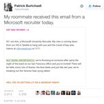 Patrick Burtchaell, student at Loyola University New Orleans, posted the email on Twitter.