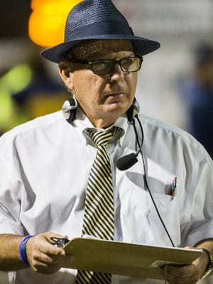 Retired Highland Park football coach Randy Allen, who is fourth on Texas all-time career wins list, got his start in Ballinger. Contributed Photo