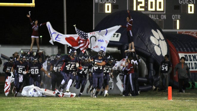 The Deming High Wildcats football won two games in the District 3-6A over a two-year stay.