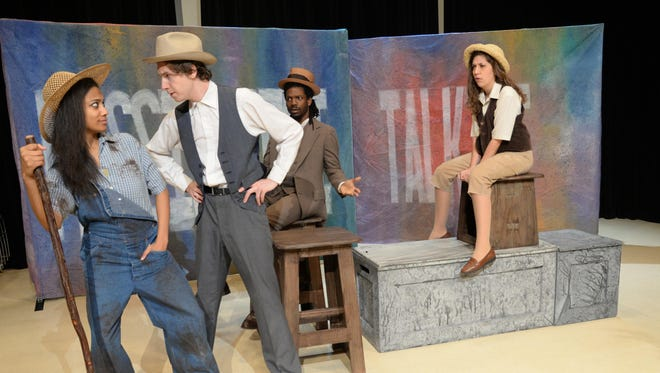 """""""Mississippi Talking"""" features New Stage Theatre Intern Company in scenes from state literary icons such as William Faulkner."""
