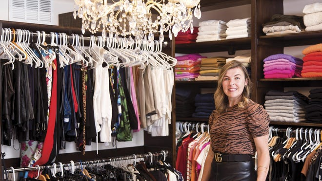 """Elizabeth Bean Smith started Wardrobe Therapy in 2006. """"So many people used to think their work wardrobe and their personal wardrobe were two totally different things -- like they were for two different people. Now, we really try to put those together."""""""