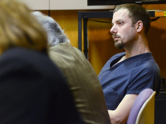 James VanCallis listens to witness testimony Dec. 15