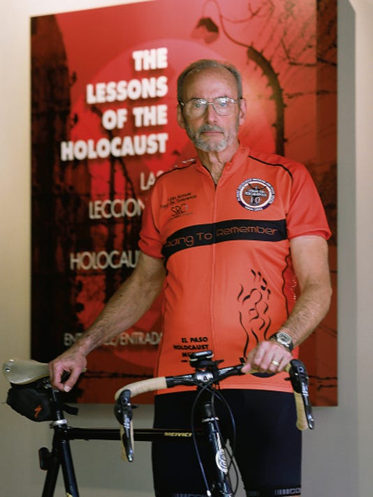 VICTOR CALZADA-EL PASO TIMES Walter Chayes started the Tour de Tolerance 10 years ago.