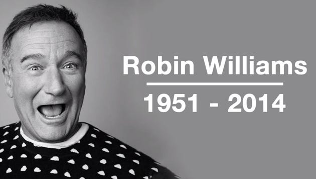 A video tribute to the late Robin Williams from the moderngreen YouTube channel.