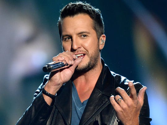 Luke Bryan performs onstage during the 49th Annual Academy Of Country Music Awards at the MGM Grand Garden Arena on April 6, 2014 in Las Vegas, Nev.
