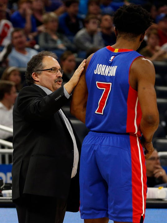 NBA: Detroit Pistons at Orlando Magic