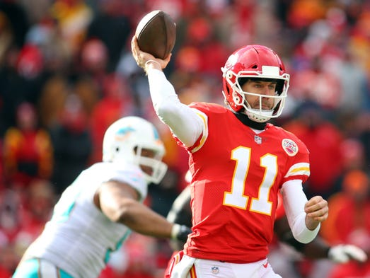 QB Alex Smith: Traded from Chiefs to Redskins