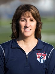 Lisa Anderson, 49, has coached Mynderse Academy's boys