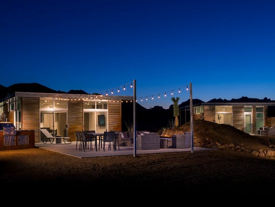The concept of Homestead Modern No. 1 in the high desert