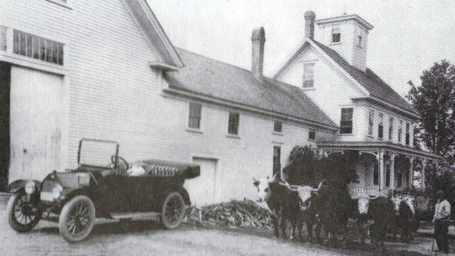 Harry Thaw's car ran out of gas near the home of James Corson at the intersection of Portland Street and Salmon Falls Road.