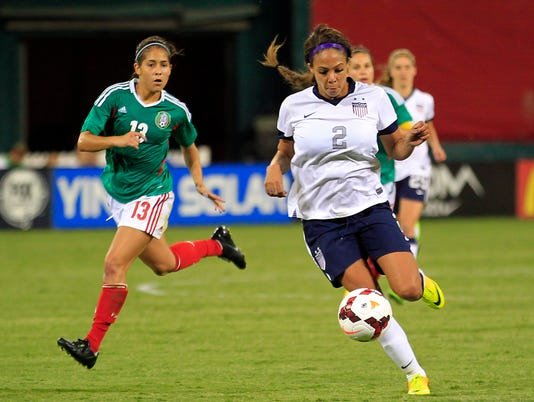 Soccer: Women's Friendly-Mexico at USA