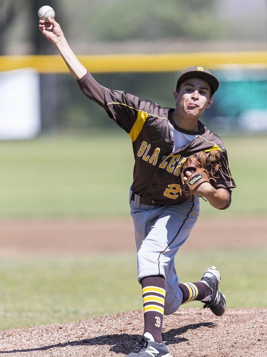 30 Mar 2105. Golden West hosts Corcoran in a Tulare/Visalia Invitational game