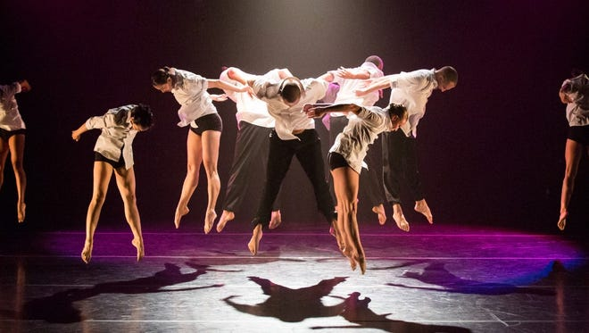 Koresh Dance Company will perform at Clayton Center for the Arts in Maryville on Feb. 4.