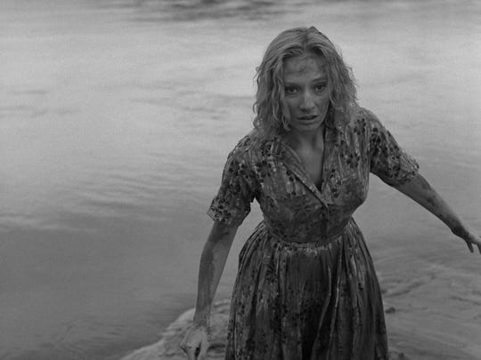 """Candace Hilligoss in a scene from """"Carnival of Souls."""""""