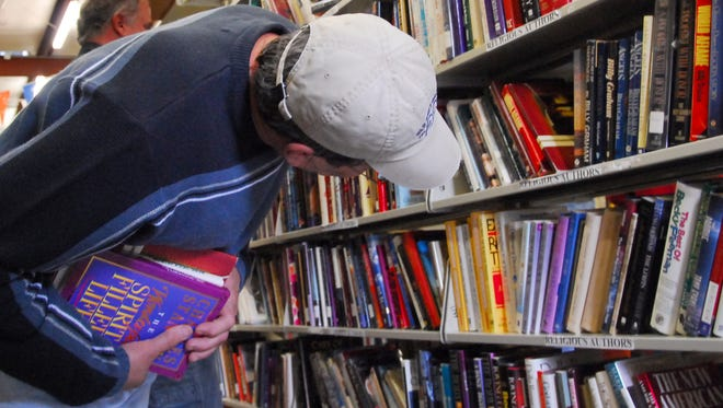 Book lovers can browse and buy at this weekend's Friends of the Library Semi-Annual Book Sale at the Merovan Center. Friday is members only;  It's open to the public Saturday and Sunday.