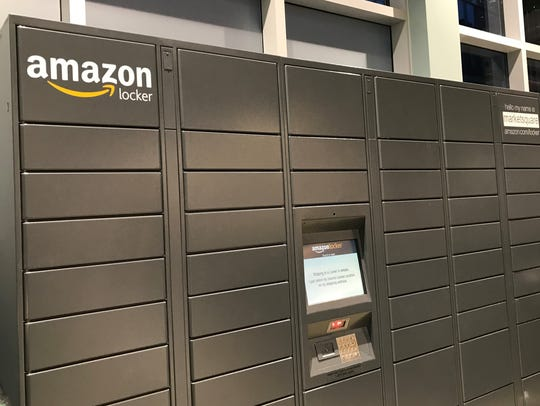 Pick up and send Amazon deliveries via 55 lockers at