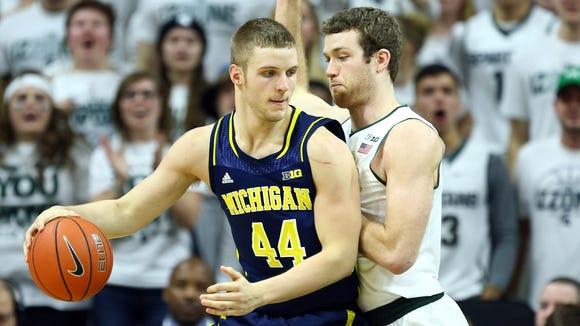 Former Michigan big man Max Bielfeldt will stay in the Big Ten after transferring to IU.