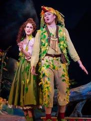 Gordon Bintner and Angela Theis appear as Pagageno