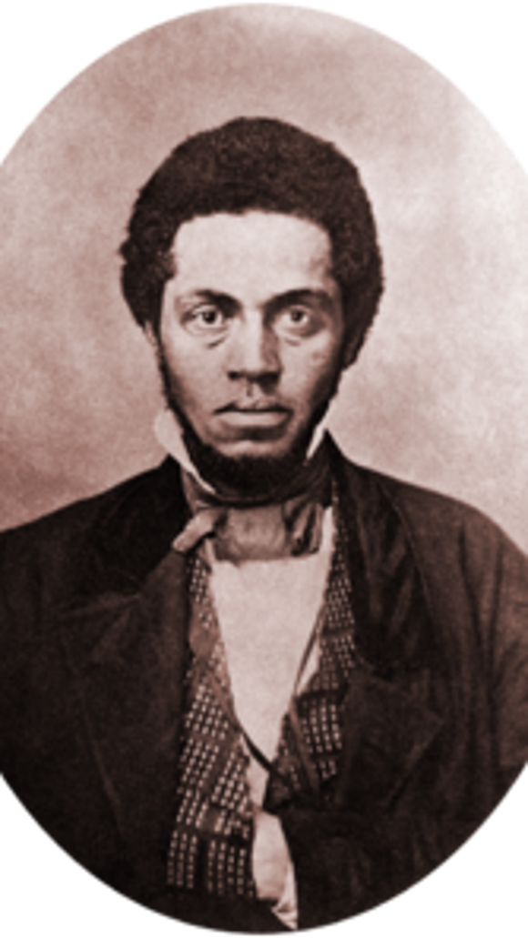 Osborne Perry Anderson, one of John Brown's raiders on Harpers Ferry, escaped and made his way to a friendly and secret reception in York.