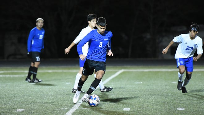 Josue Vicencio  was one of a trio of Cedar Creek players to earn all-district honors.