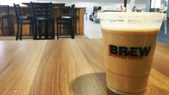 Small Nitro Coffee ($4) from Border Brew Coffee House.