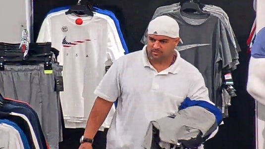 Police say this man is a suspect in a shoplifting case at KOHL's.