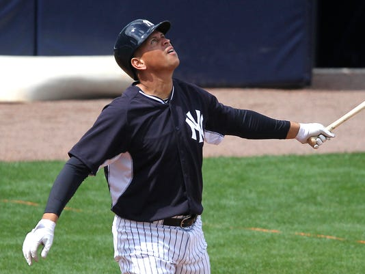 MLB: New York Yankees-Workout