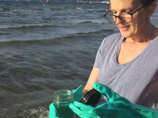 Lori Fisher, executive director of nonprofit Lake Champlain
