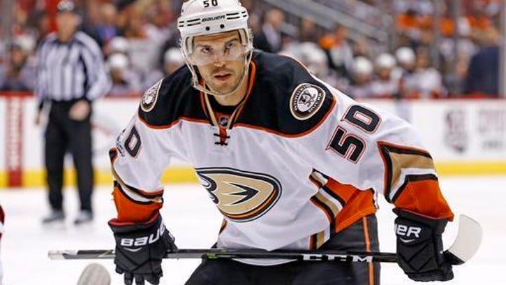 Ducks' Vermette suspended 10 games for slashing official