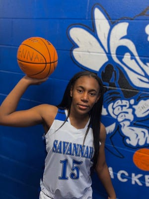 Savannah High basketball standout Amoni' McGruder.