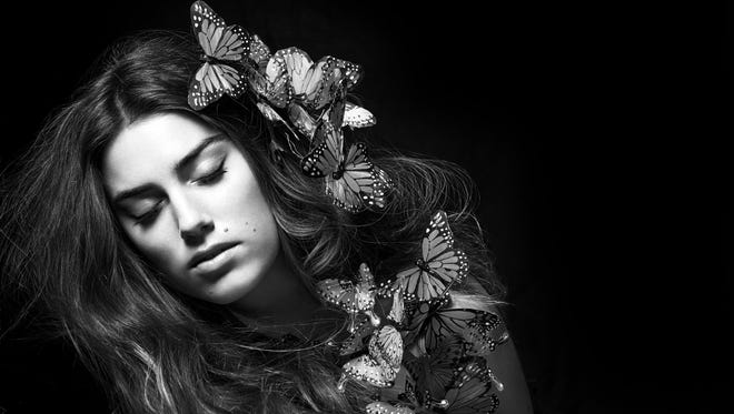 Pop singer-songwriter Ryn Weaver, 22, who's climbing USA TODAY's Top 40 airplay chart with 'OctaHate.'