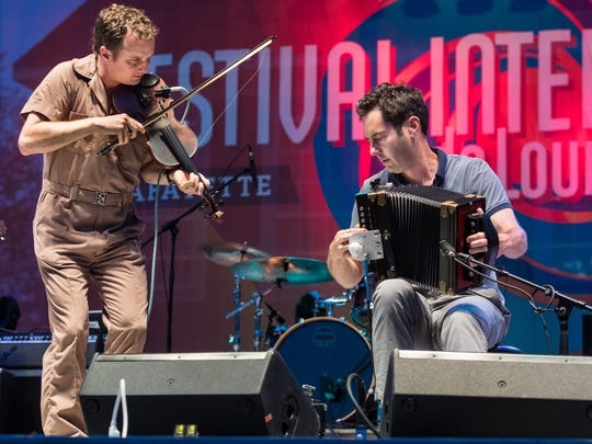The Lost Bayou Ramblers top the music lineup July 3