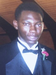 A family photograph of Timothy Thomas. He was 19 when he was shot and killed by Cincinnati Police Officer Stephen Roach