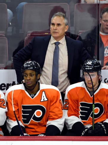Craig Berube's final record as Flyers head coach was