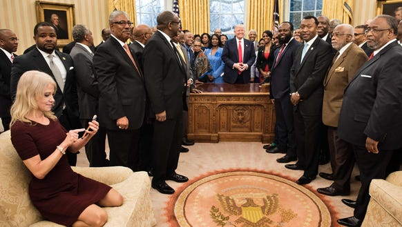 story news politics onpolitics kellyanne conway couch oval office white house