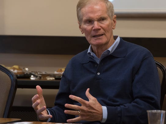 Sen. Bill Nelson will be in Pensacola Monday to meet