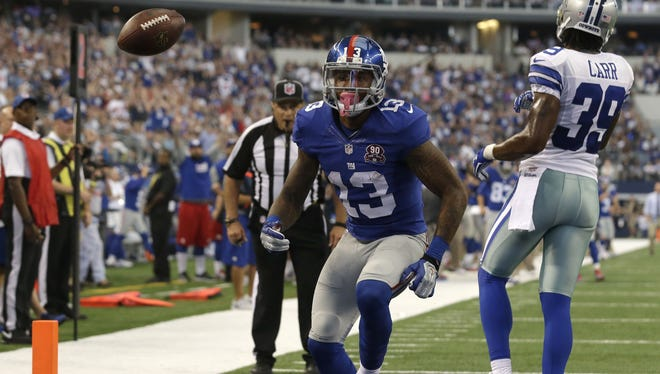 Giants wide receiver Odell Beckham has come a long way in a short time.