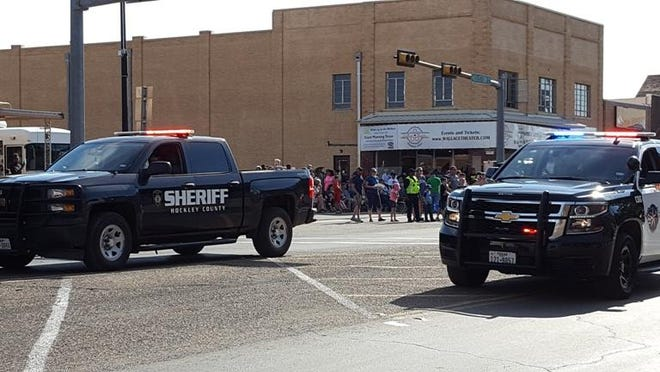 File photo from a Levelland Early Settlers' Day parade.
