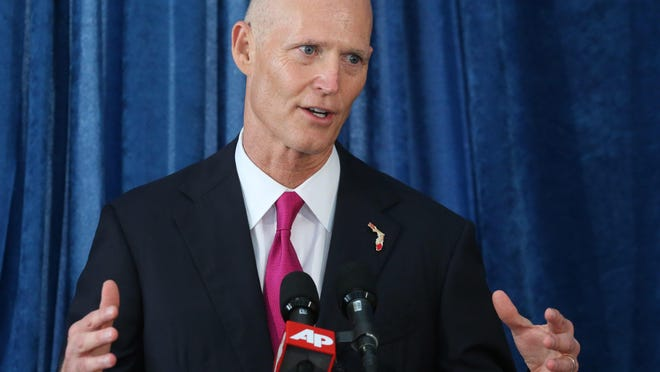 Gov. Rick Scott (AP Photo/Steve Cannon)