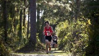 The Jensen Beach girls team and Okeechobee boys team won titles Saturday in the District 14-3A cross country meet at South Fork High School.