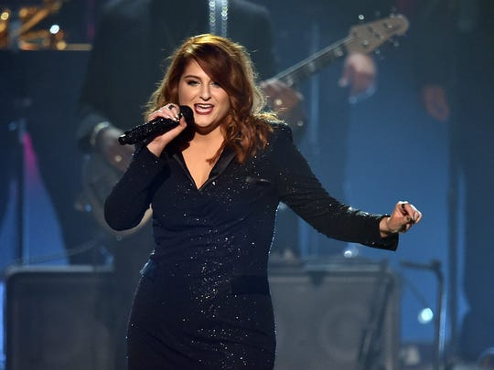 Meghan Trainor performs onstage during The 58th Grammy