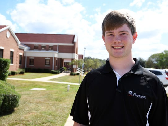 William Carey sophomore Lane Burnett is back at school