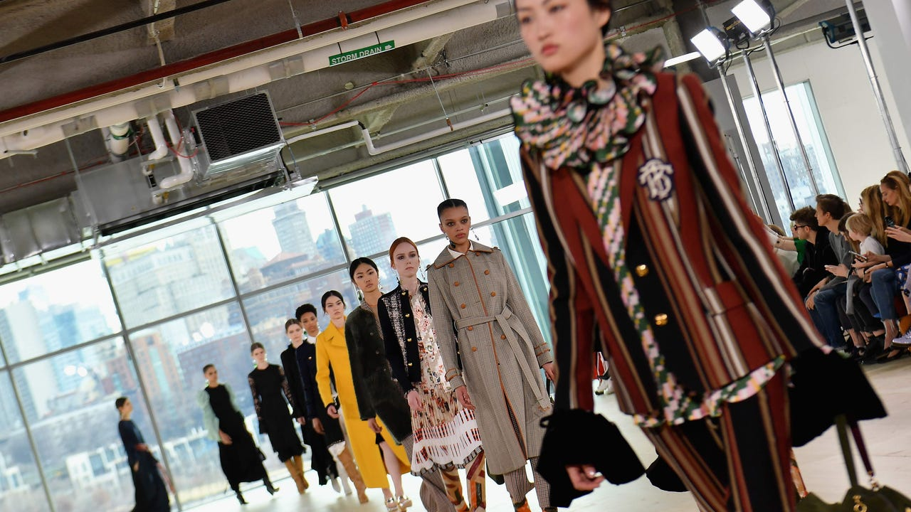 2c5114c4d Tory Burch s collegiate collection debuts at NY Fashion Week