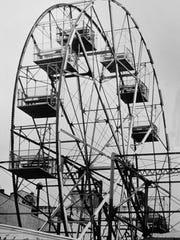 Asbury Park's Ferris wheel in the mid-1980s.