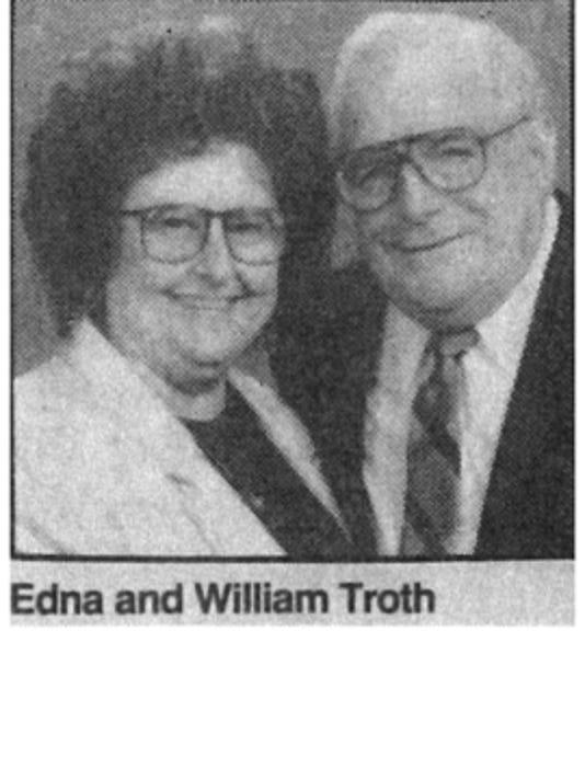 Engagements: Edna M Trath & William D Trath