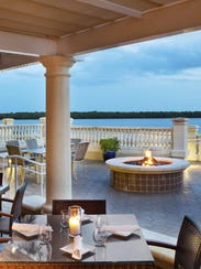 Marker 92 Waterfront Bar & Bistro offers a seafood-focused