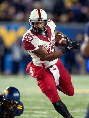 Oklahoma Sooners running back Joe Mixon.