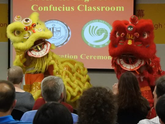 St. Xavier High School is first in the region to have a Confucius Classroom.