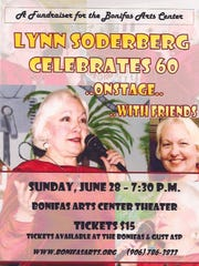 "A few years ago, Lynn Soderberg of Escanaba performed a one-woman show ""Celebrate 60"" to raise funds for the local theater in Escaba."