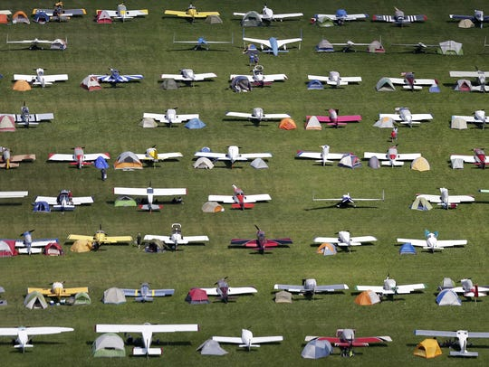 AirVenture 2015 at Wittman Regional Airport on July
